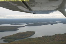 the Quabbin under the wing